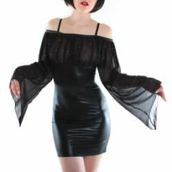 ROBE MORGANA VOILE STRASS