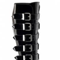 BOTTES PLATEFORMES BOUCLES - Talons 17cm
