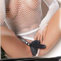 DOUBLE STRAP-ON STRING GODES SILICONE