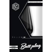 BUTTPLUG MODEL 1 NOIR MEDIUM