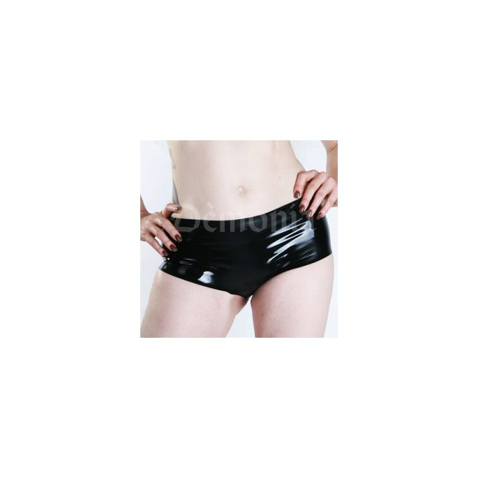 MINI SHORT LATEX NOIR