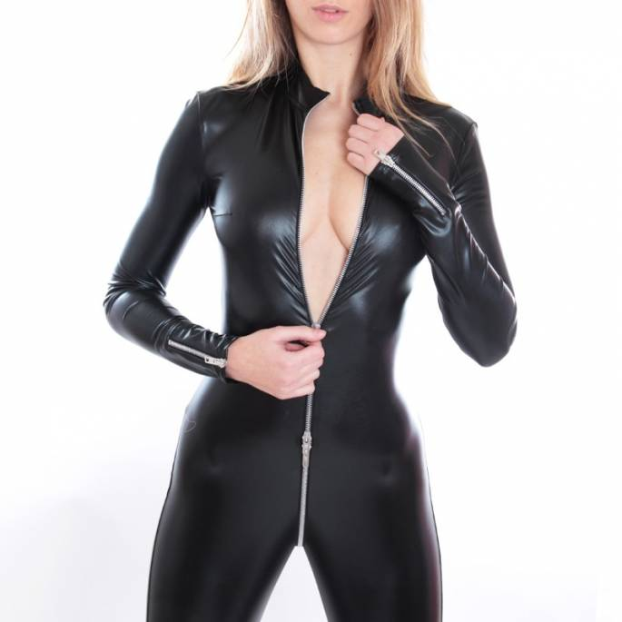 """CATWOMAN """"SWEETY"""" LYCRA LAQUE"""