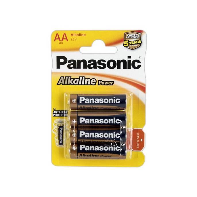 4 PILES AA PANASONIC