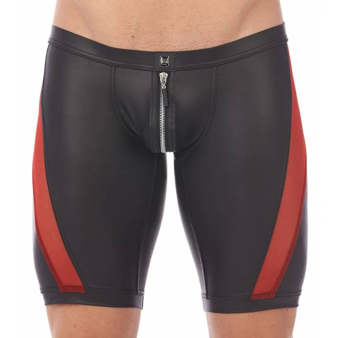 CYCLISTE RECKLESS ROUGE VOILE+WETLOOK S