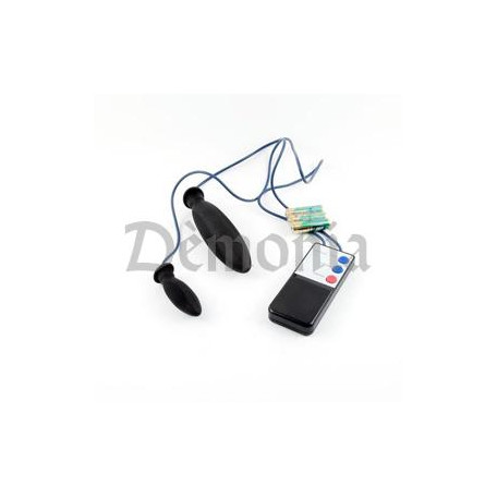 BOITIER ELECTRO 2 PLUGS NOIRS