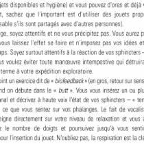 LE PLAISIR ANAL (POUR LUI)
