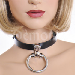 COLLIER MINERVE CUIR LUXE