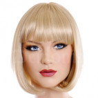 PERRUQUE BLONDE CHINA DOLL