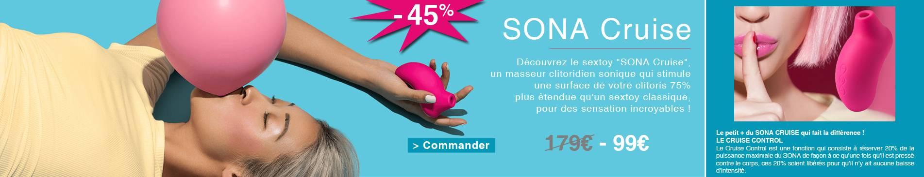 Sona Cruise à 99€ au lieu de 179€